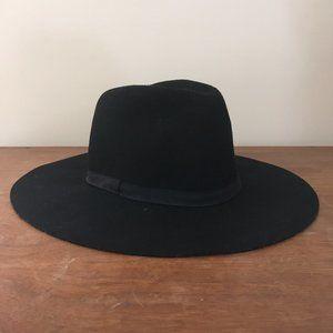 J.Crew Wide Brimmed Italian Wool - Felt Hat